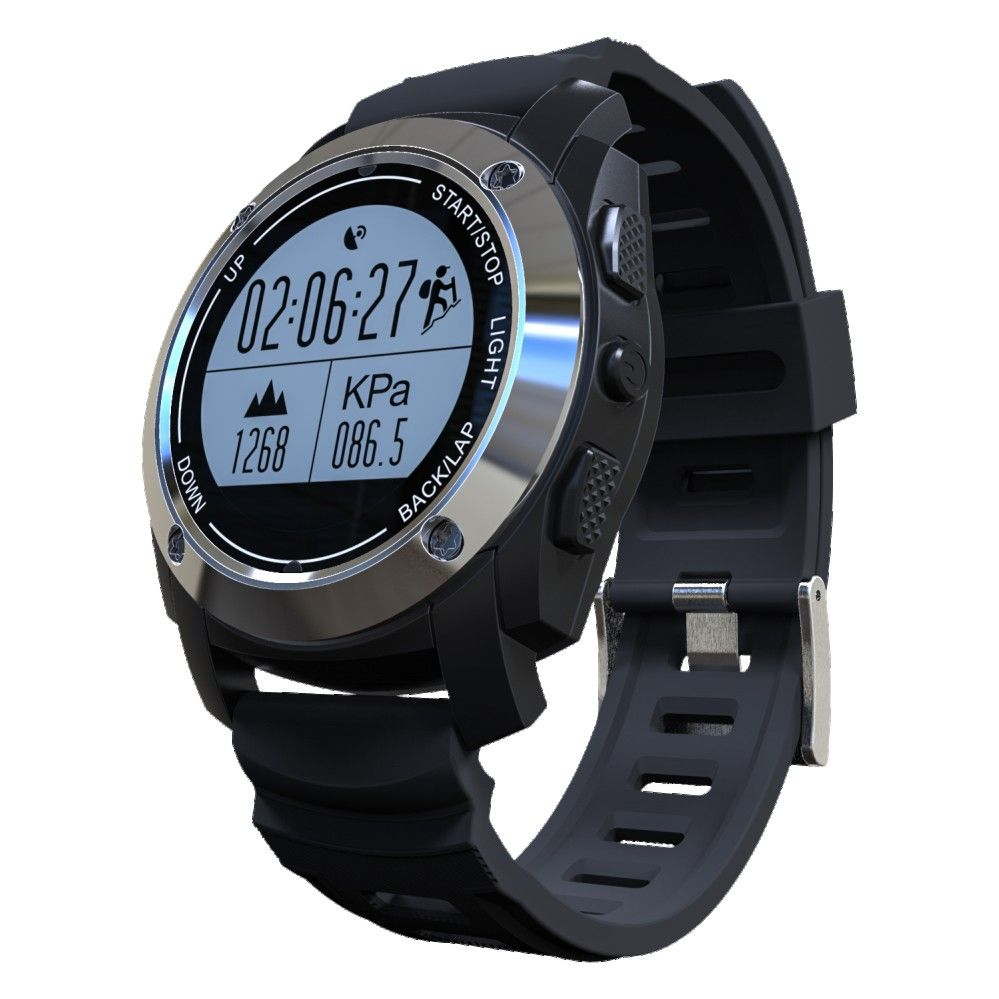 S928 professional sports GPS smart watch pressure temperature high heart rate riding mountain climbing pace step positioning