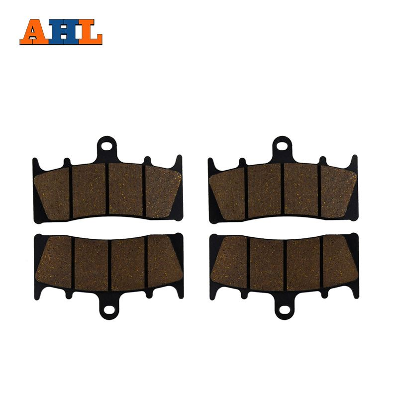 AHL 2 Pairs Motorcycle Front Brake Pads for KAWASAKI ZX 6R 7R 9R 12R ZZR 600 GPz 900R ZRX 1100 1200 VN 1500 1600 ZX-6R