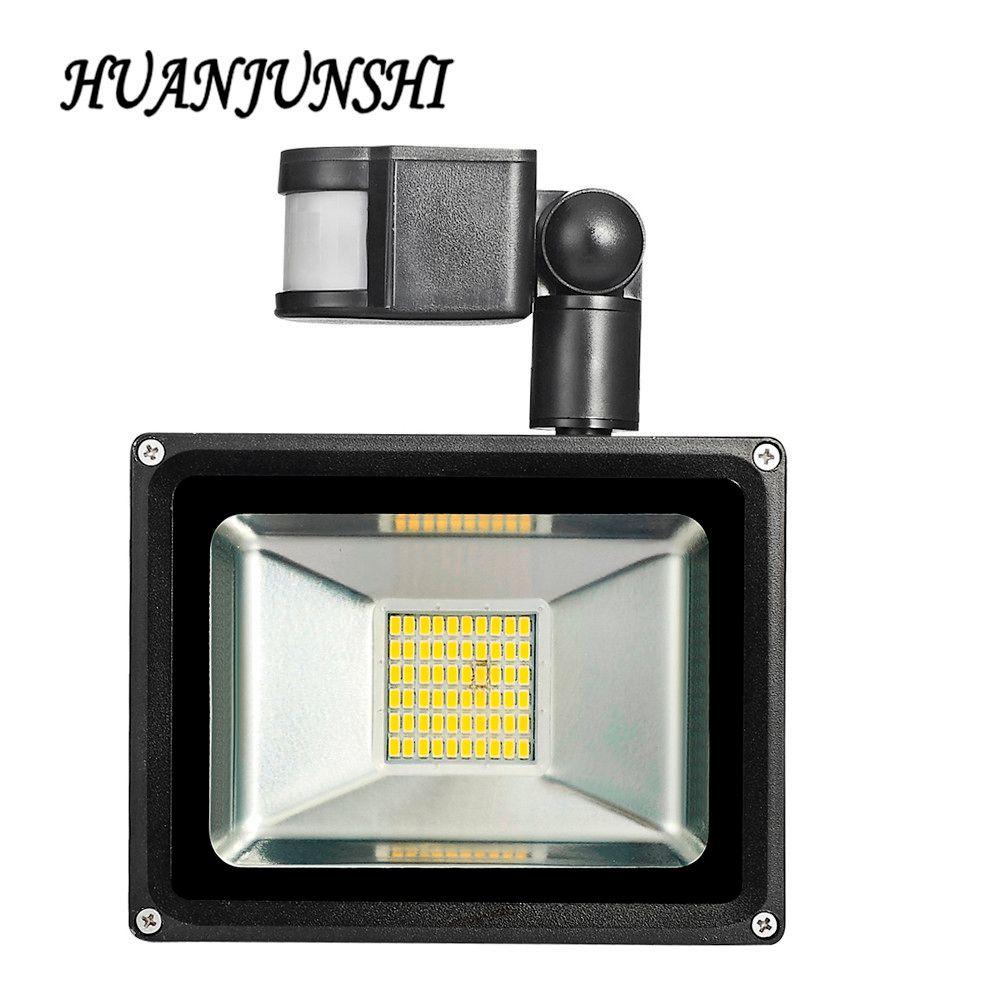Led Flood Light Motion Sensor 30W 220V Led Floodlight Street Garden Lights LED Sensor Reflector Lamp Waterproof Outdoor Lighting