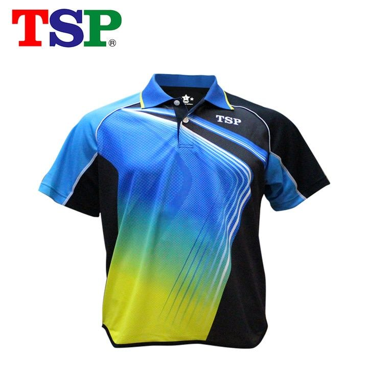 TSP 2018 New Table Tennis Jerseys T-shirts for Men / Women Badminton Ping Pong Cloth Sportswear Training T-Shirts