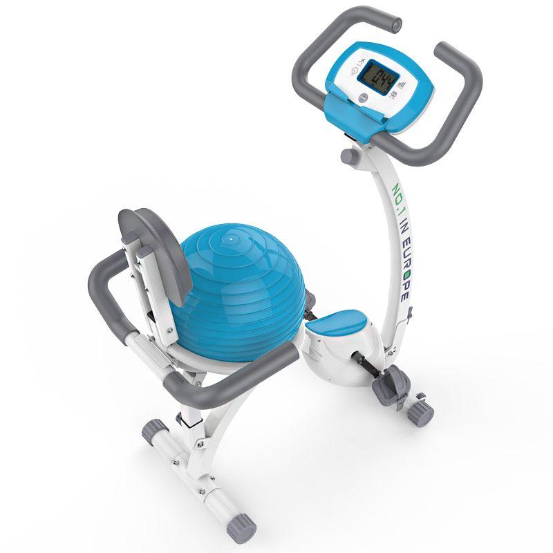 Techsport Upright Stepper with Yoga Ball Super Mute Household Bike Home Fitness Equipment