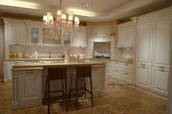 Крем цвета вишни кухонный шкаф (lh-sw068)