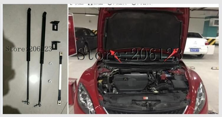 20082009 2010 2011 2012 2013 For Mazda 6 ACCESSORIES CAR BONNET HOOD GAS SHOCK STRUT LIFT SUPPORT CAR STYLING