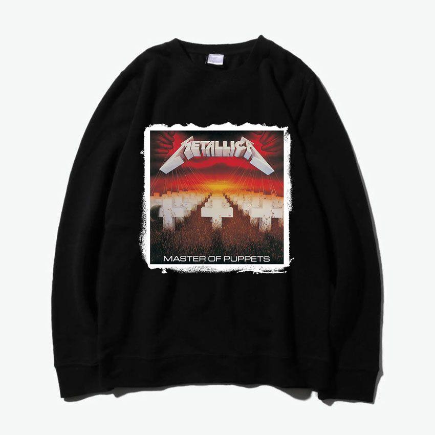 Meister der puppen metallica rock mode dicken Pullover Sweatshirts