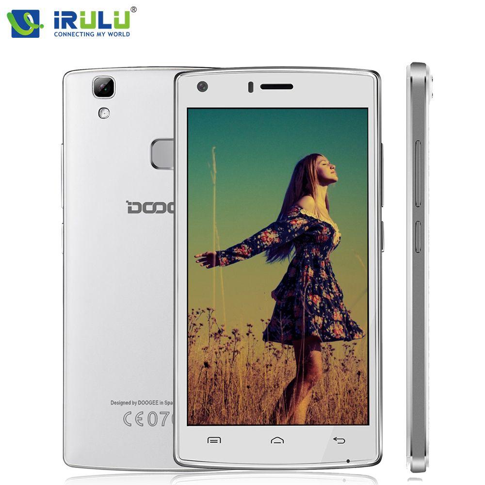 IRULU Doogee X5 Max Pro MTK6737 Smartphone 5.0 1280*720 IPS Android 6.0 Quad Core Mobile Téléphone 2 GB RAM + 16 GB ROM 4G 5MP 4000 mAh