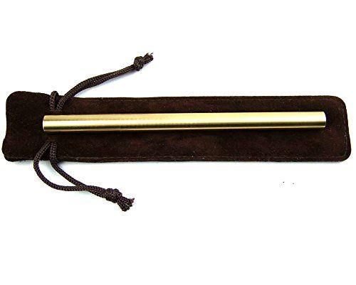 Страсть ручной работы латунные ручки, одноцветное Портативный карман Медь ручка, рождественский подарок ручка