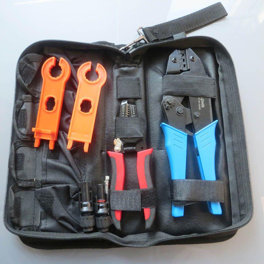 MC4 crimpzange für mc4-stecker solarkabel 2.5m2 4mm2 6mm2 PV Crimp schneidwerkzeuge kits DIY draht