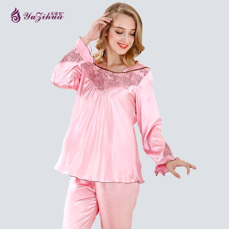 Yuzihua Lace Pijamas Mujer Pijama Feminino Pyjamas Women Pajamas for Women Pijama Set Sleepwear Pyjama Femme Pijama