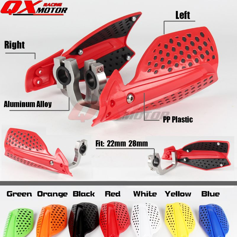 Motorcycle Hand Guards For HONDA XR CR CRF 110 125 150 230 250 450 R/X Dirt bike Motocross Enduro Supermoto Free shipping