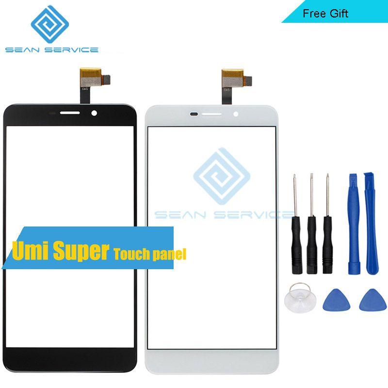 Pour UMI Super TP panneau tactile pièces de réparation parfaites + outils 100% écran tactile Original 5.5 pouces