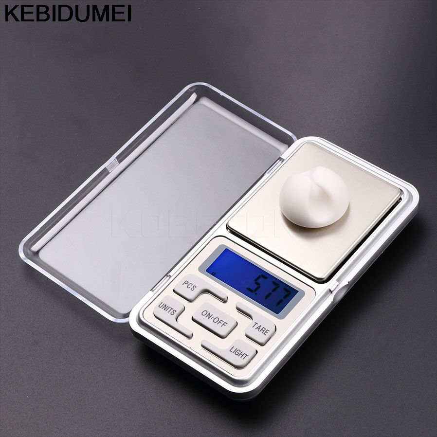 Electronic Digital Jewelry Scale 0.01g Jewelry Mini LCD Digital Scales Tool Diamond Gold Bijoux Sterling Silver Weight Scale