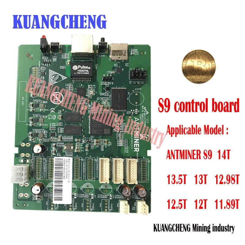 kuangcheng s9 control board Applicable to ANTMINER S9i 14T 13.5T 13T 12.5T 12T 11.89T Bitcoin miner