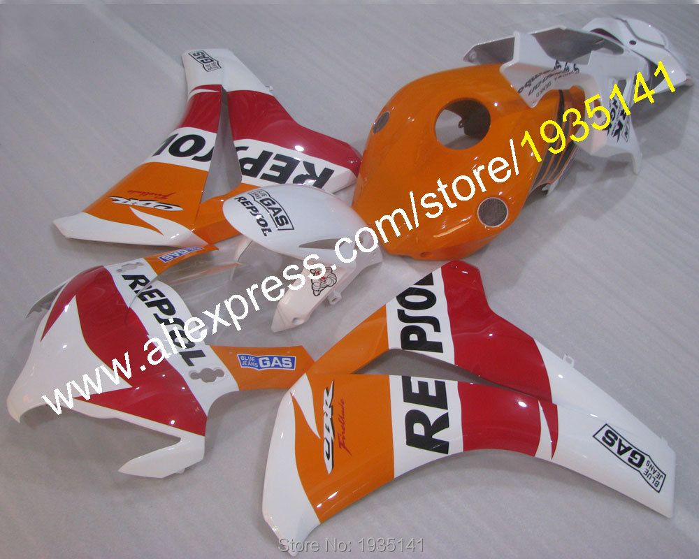 Hot Sales,Fashion Repsol For Honda CBR 1000RR 2008 2009 2010 2011 CBR1000 RR 08 09 10 11 GAS motor fairing (Injection molding)
