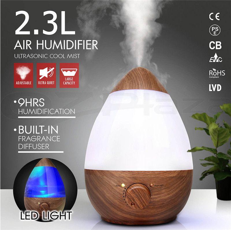 2.3L Air Humidifier Ultrasonic Aromatherapy Diffuser Aroma Nebuliser Purifier AU Plug