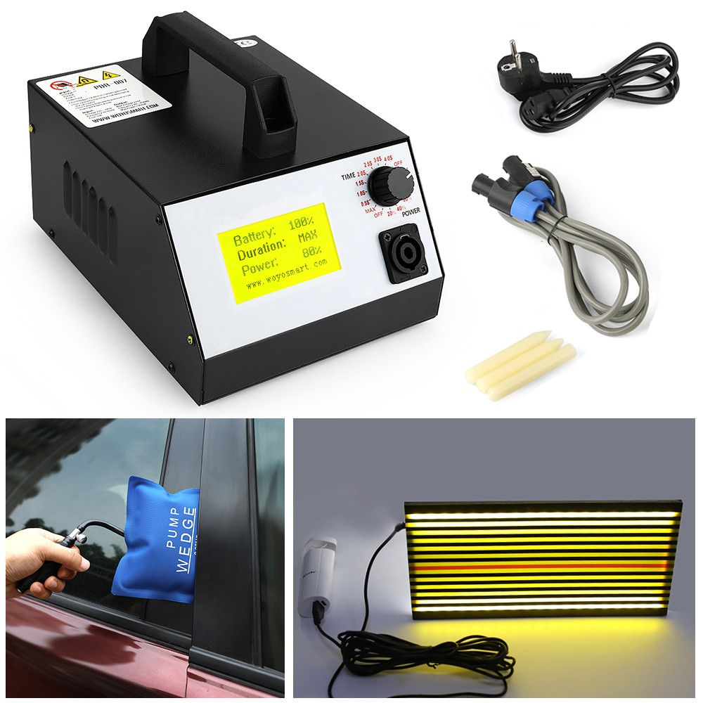 Pdr-007 Hot Box Pdr With Hand Pump Airbag Led Lihgt Lamp Induction Heater For Removing Dents Sheet Metal Tools Dent Repair woyo
