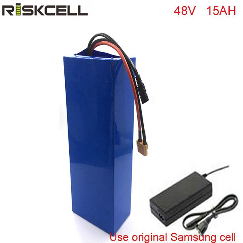 DIY 48 volt li-ion akku für 48 v 15ah lithium-batterie pack Für Samsung zelle