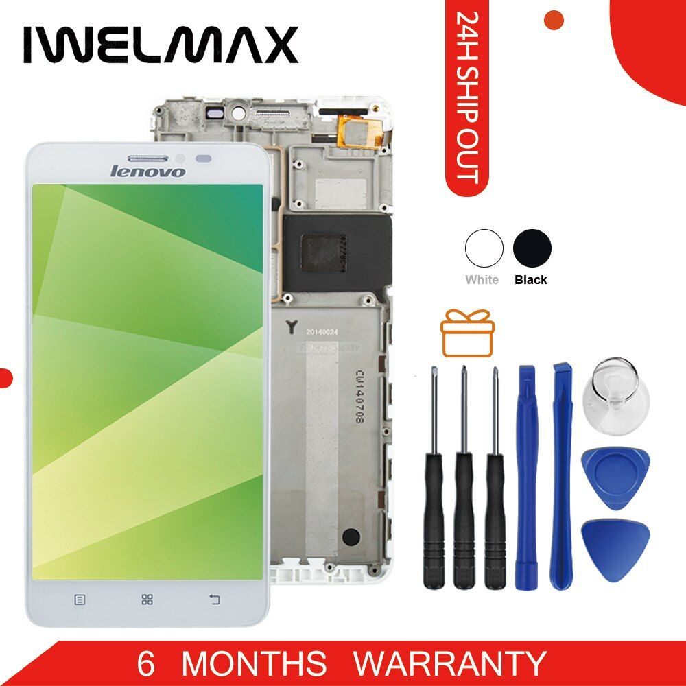 Tested Warranty For LENOVO S850 LCD Display Touch Screen Display For Lenovo S850 LCD with Frame Digitizer Parts S850T