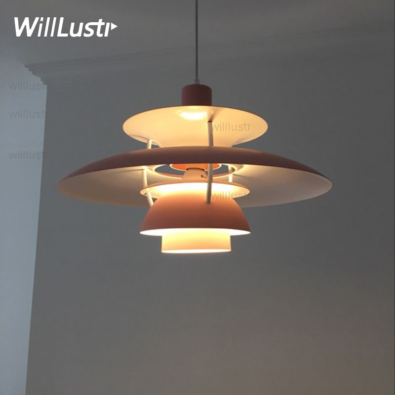 PH 5 pendant lamp metal replica Louis Poulsen PH5 Poul Henningsen modern design classic pendant light suspension lighting