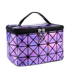 Funktionale Kosmetik Tasche Frauen Mode PU Leder Reise Make Up Necessaries Organizer Zipper Make-Up Fall Beutel Toiletry Kit Tasche