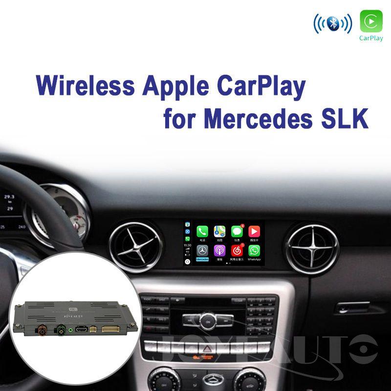 Joyeauto Drahtlose Wifi Apple Carplay für Mercedes SLK klasse 2011-2015 NTG4.5/NTG4.7 Apple Auto spielen Unterstützung Hinten ansicht Kamera Waze