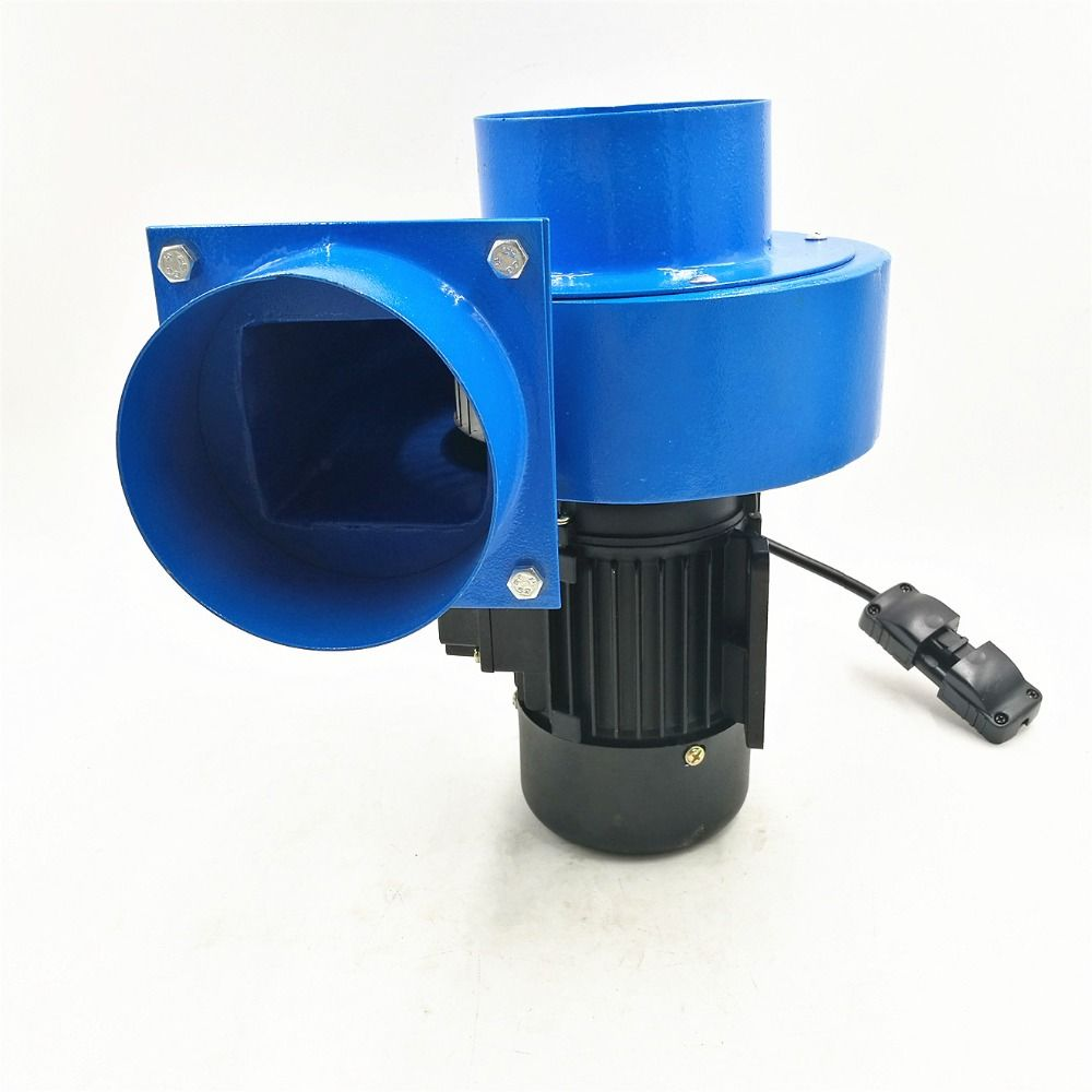 High temperature blower 120w Small 10cm Pipe Hot Smoke Gas Suck Extraction Small Centrifugal Fan Blower 220V 600m3