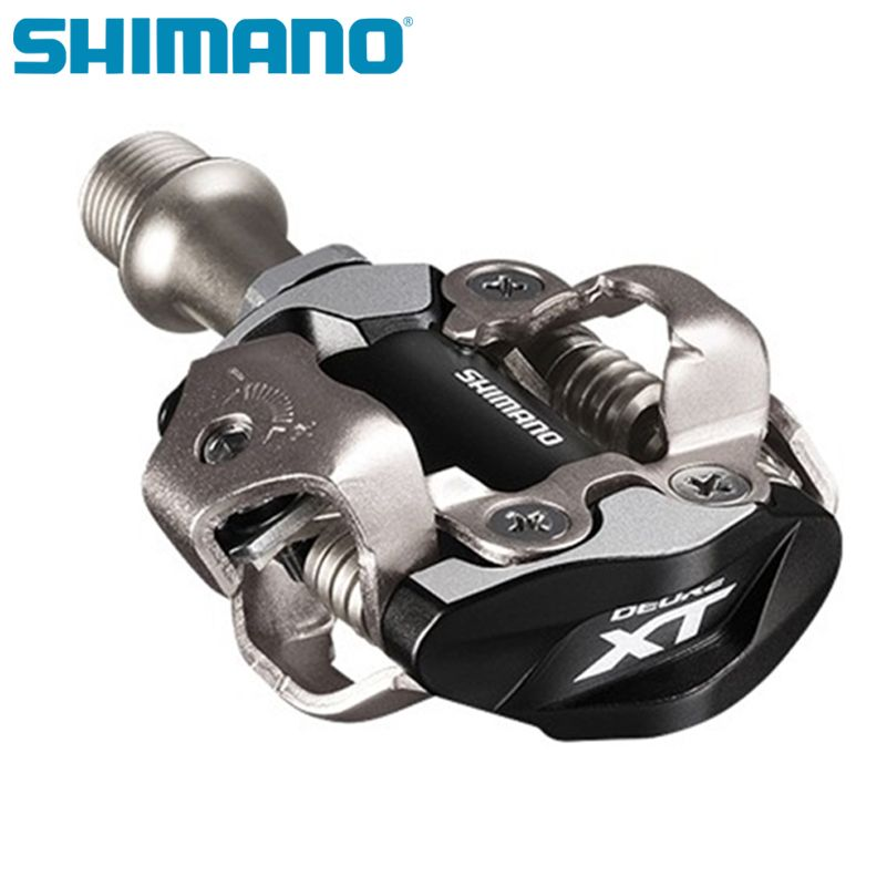 SHIMANO XT PD M8000 M8020 Self-Locking SPD Pedals for MTB Bike Parts Bicycle Racing Professional Mountain Bike Pedals