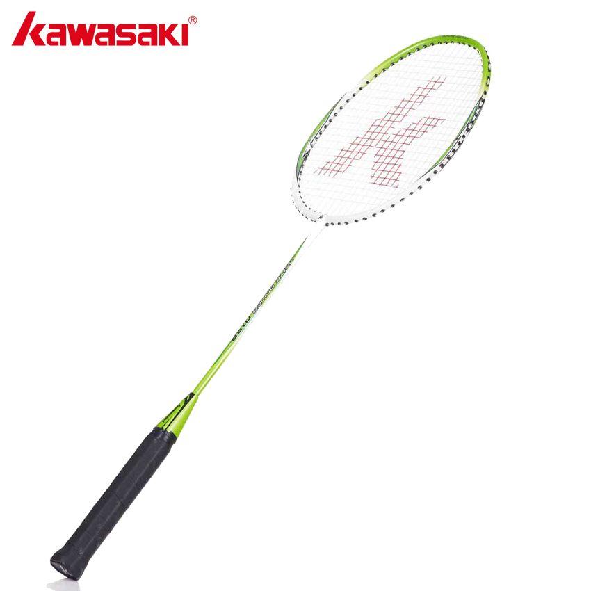 KAWASAKI Marke Licht Gewicht Aluminium Badminton Schläger 1U Mit String Für Amateur Junior Unterhaltung UP-0158