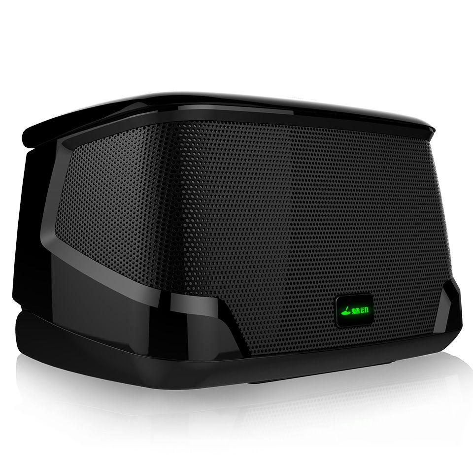 Meidong Miniboom II haut-parleur Bluetooth sans fil Mini haut-parleur Portable avec Microphone pour ordinateur de téléphone caisson de basses Super