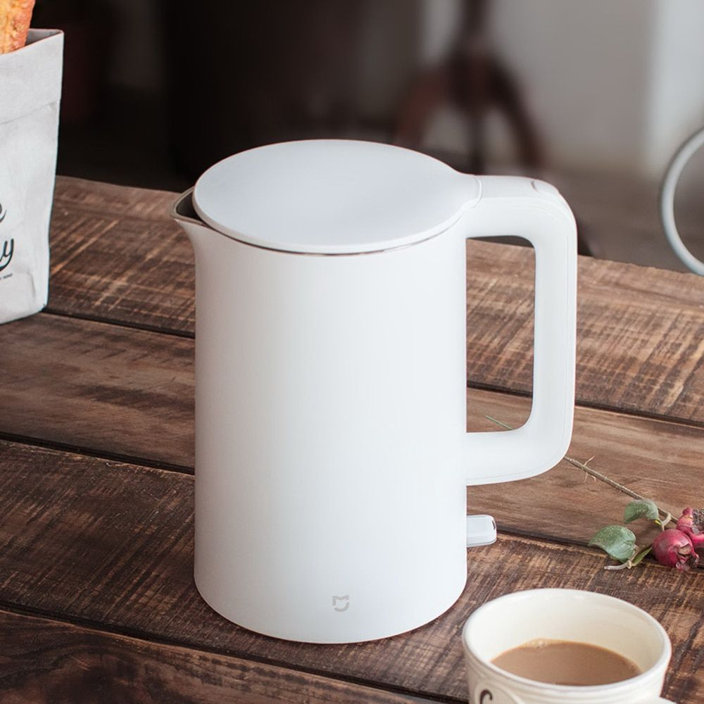 Xiaomi Mijia Mi 1.5L Electric Water Kettle Auto Power-off Protection 304 Stainless Steel Inner Layer Fast Boiling Water Kettle