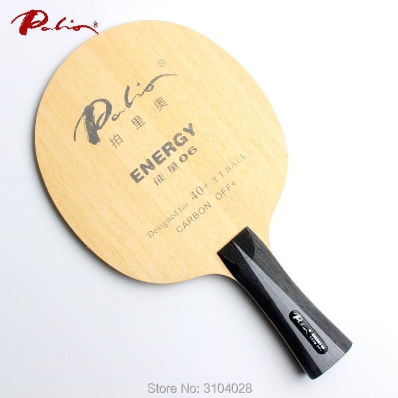 Palio officielles de l'énergie 06 tennis de table lame spécial pour 40 + nouveau matériel tennis de table raquette jeu rapide boucle d'attaque carbone lame
