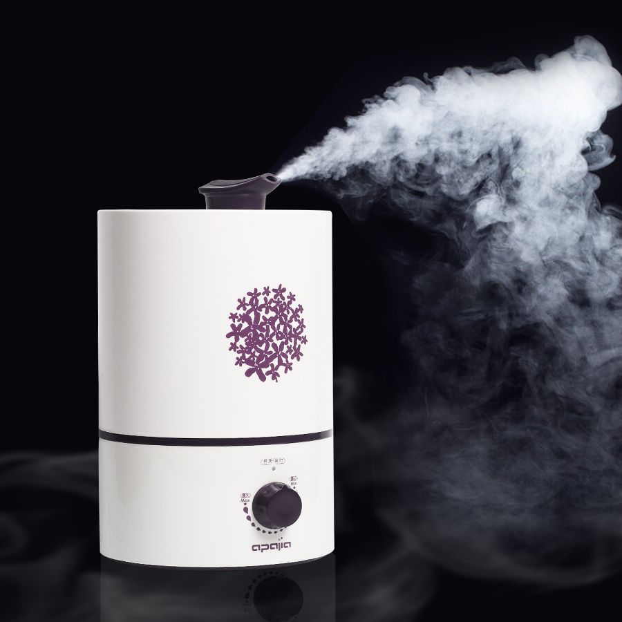 Air Humidifier Fogger Carve Aroma 15 Hours Continuous Working Diffuser For Home 4 L Large Capacity Air Conditioning Appliances