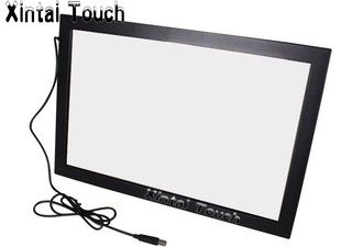 Free Shipping! Xintai Touch 32 inch USB IR <font><b>Multi</b></font> touch screen overlay;10 points Infrared <font><b>multi</b></font> touch screen frame for LED TV