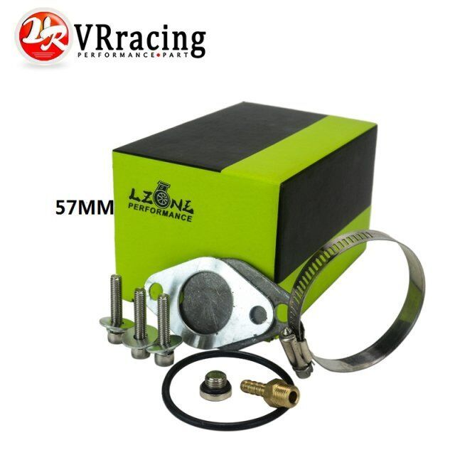 VR RACING - 57MM Wholesale new design EGR Valve Replacement Pipe For 1.9 8v TDI PD130/PD150 2.25