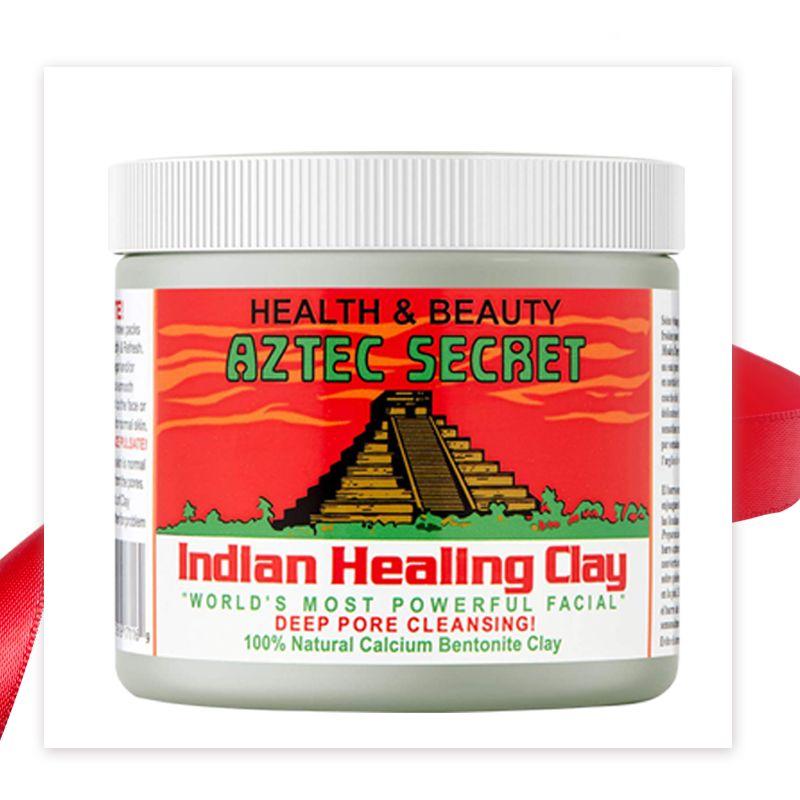 Masque d'argile indienne aztèque Secret poudre argile de bentonite de Calcium masque Facial de beauté nettoyant en profondeur 1 lbs
