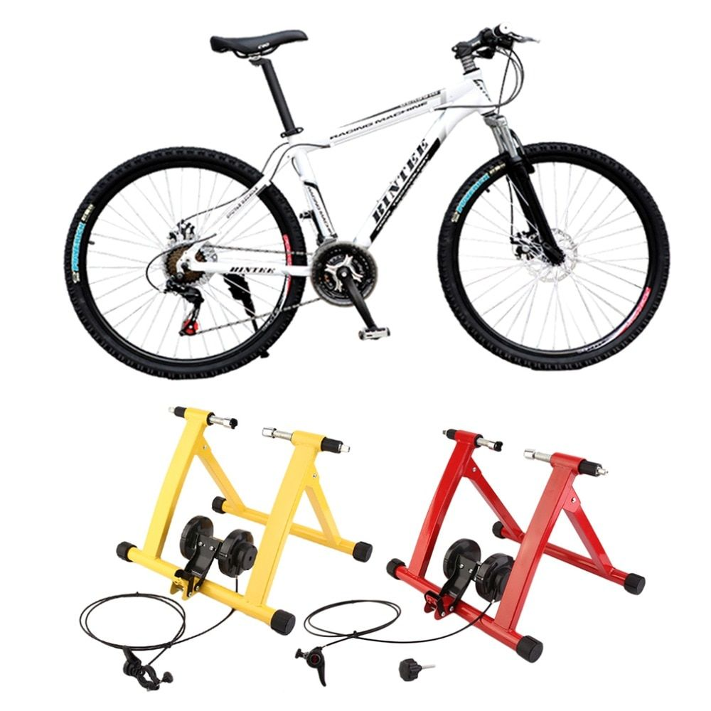 2018 professionelle Radfahren Mountainbike Indoor-Training Station Rennrad Parkplatz Station Bike Indoor Übung Trainer Stand