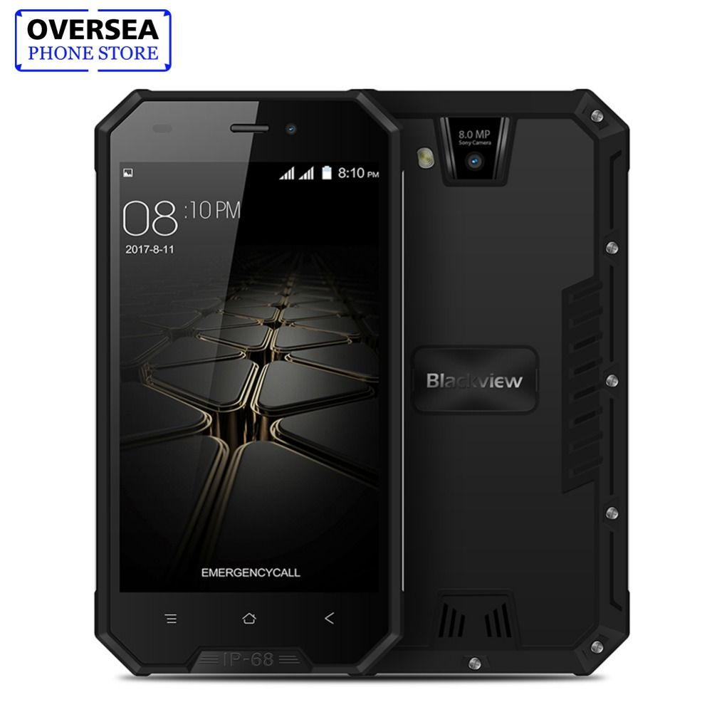Blackview BV4000 Pro Smartphone Quad Core 4.7 Inch 1280x720 IP68 Waterproof Shockproof Phone 3680mAh 2GB 16GB Telephone Phone