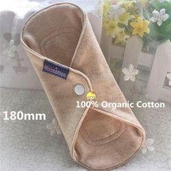 1Pc Reusable Menstrual Cloth Sanitary Pad Washable Panty Liner Menstrual Pad for Women Feminine Hygiene 100% Health Cotton Hot