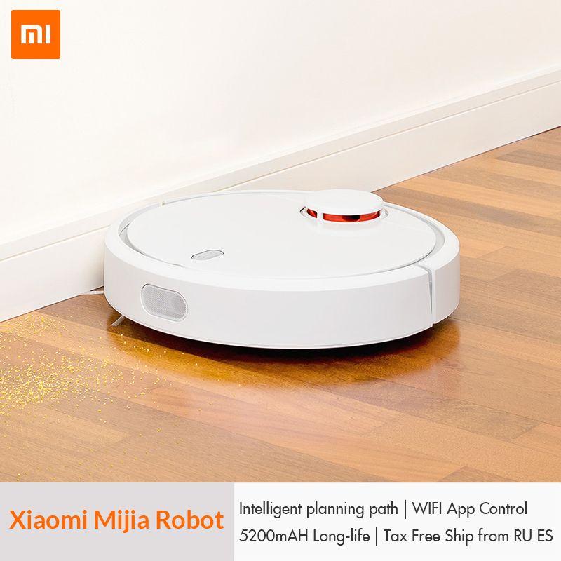 D'origine XIAOMI Mijia MI robot aspirateur pour La Maison Automatique Balayer La Poussière Stériliser Smart Prévues application mobile télécommande