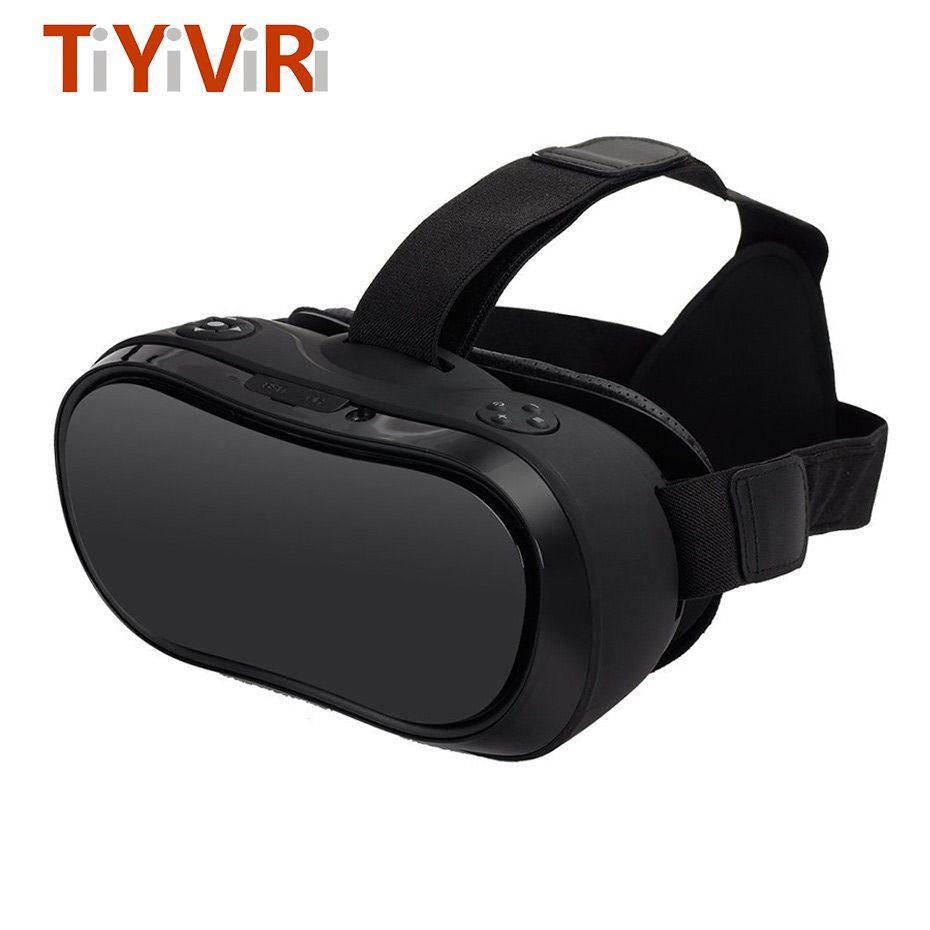 VR 3d-brille VR Alle In Einem Helm Virtual Reality Brille für Xbox 360 TEILE 4 HDMI 2,0 2560*1440 Quad-core 2G/16G Multi-sprache