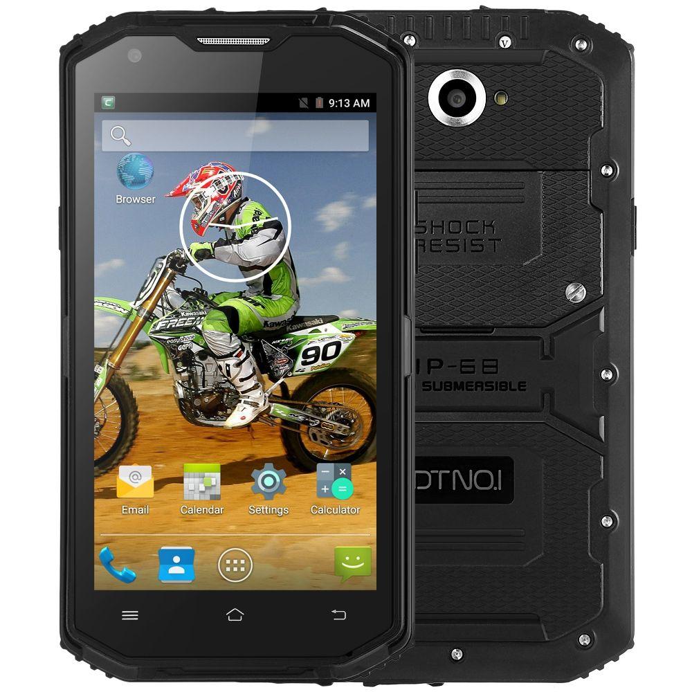 Original DTNO.I X3 4G Phablet Android 5.1 Smartphone 5.5 inch MTK6735 Quad Core 2GB RAM 16GB ROM IP68 Waterproof Bluetooth 4.0