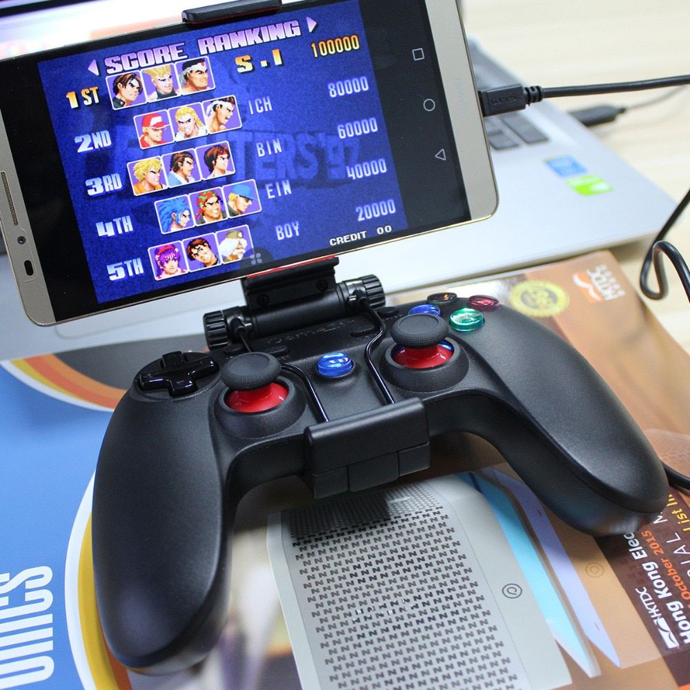 Gamesir G3w filaire Joystick USB2.0 contrôleur de manette de jeu pour Android Smartphone/tablette ordinateur portable avec hoder