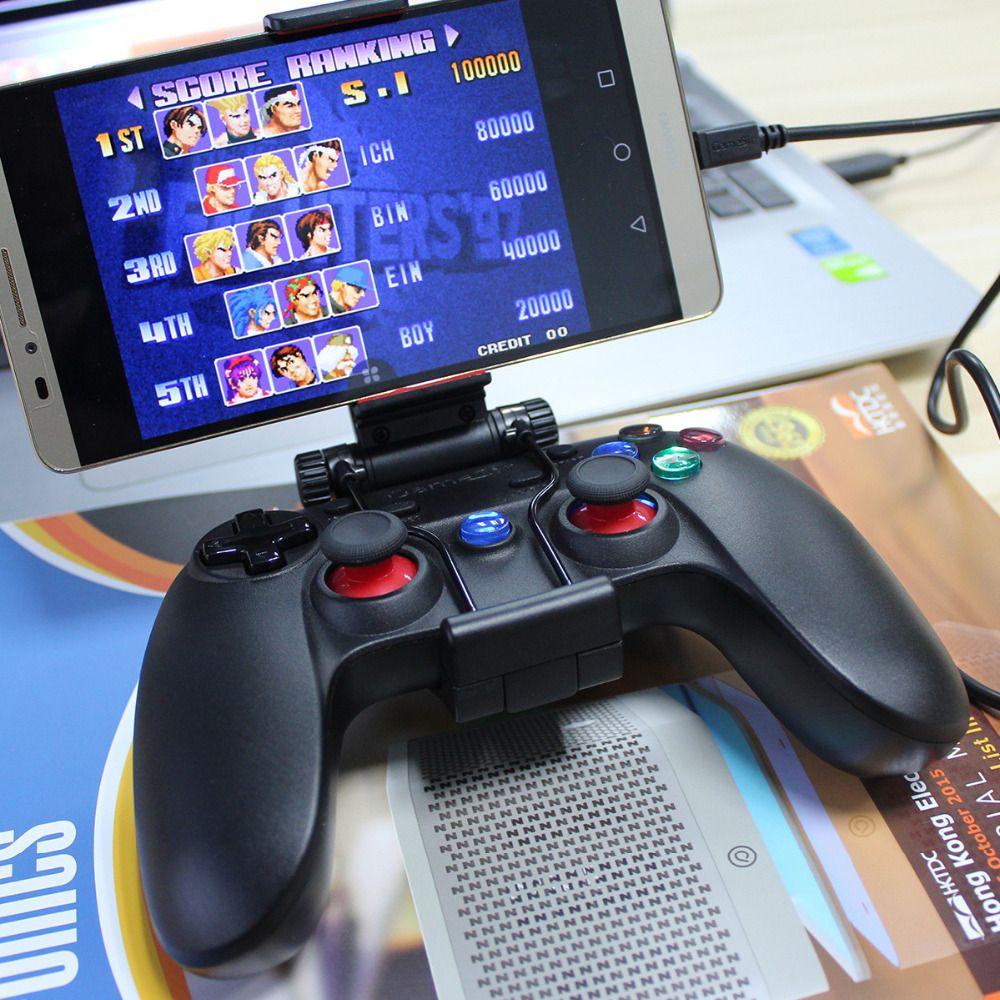 Manette filaire Gamesir G3w contrôleur de manette de jeu USB2.0 pour Smartphone Android/tablette PC ordinateur portable avec hoder
