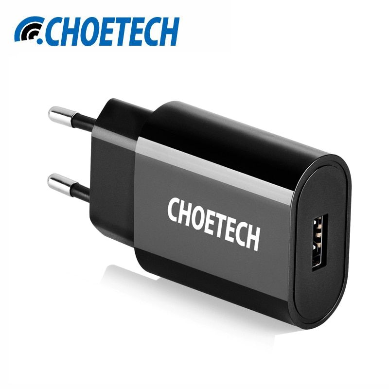 CHOETECH Mobile Phone Charger Travel USB Charger 12W Wall Charger Adapter For iPhone XS XR For Huawi Xiaomi mi 8 For Samsung S9