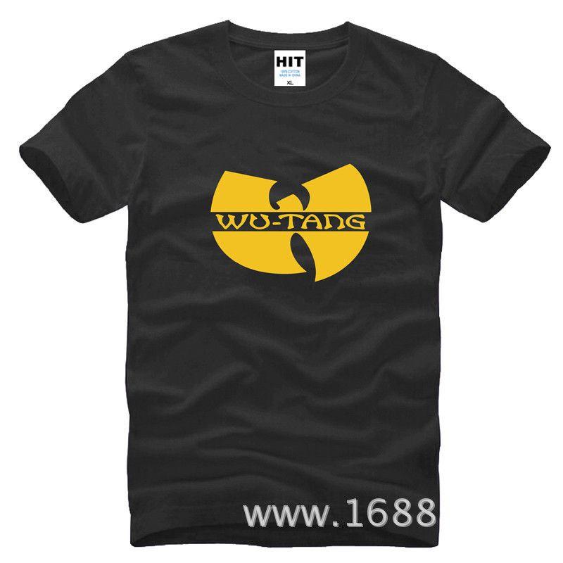 Classique W Logo RAP HARDCORE HIP HOP hommes T-shirt mode 2018 nouveau coton T-shirt T-shirt Camisetas Hombre
