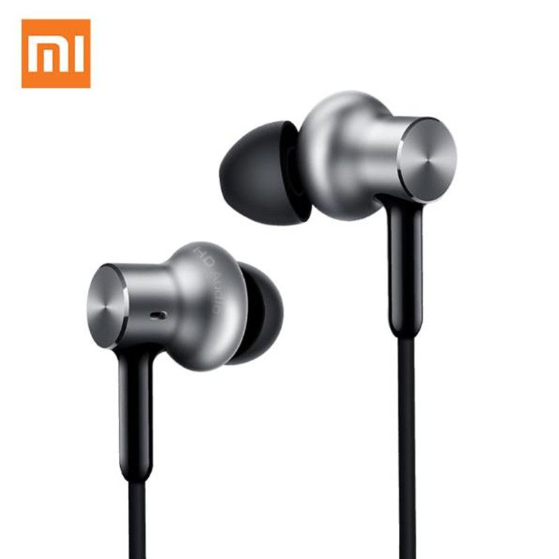 Original Xiaomi Mi Hybrid Earphones Pro HD QTEJ02JY Three Drivers In-Ear Voice Control Noise Cancelling For Cellphone mi6 note3