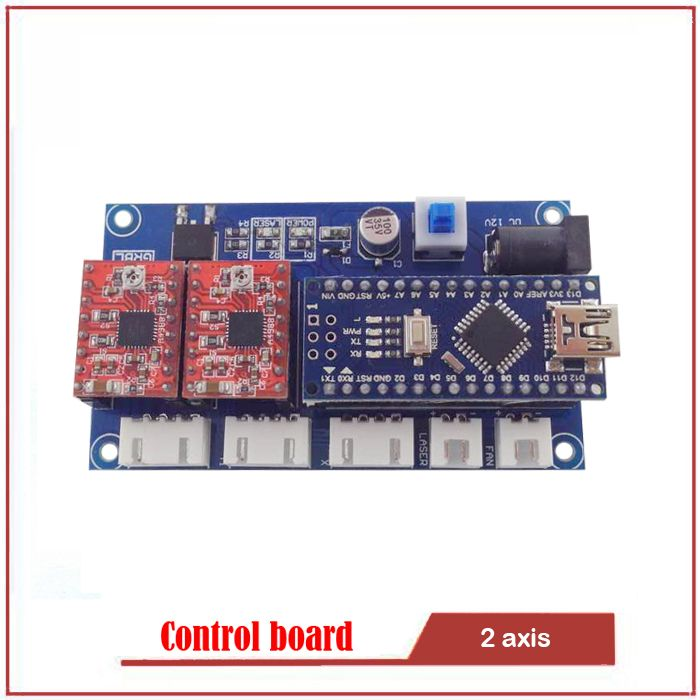 GRBL control board DIY laser engraving machine micro 2 axis stepper motor drive control board Engraving machine accessories