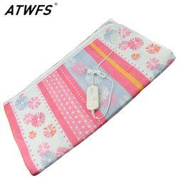 ATWFS 150*120 см электроодеяло, двуспальная кровать, Электрический ковер, подушка-грелка, термостатическая