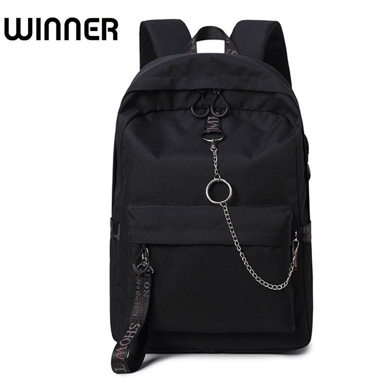 Fashion Waterproof Fabric Women Backpack Lovers Travel Knapsack Korean Personality Design College Girls Bookbags Bagpack