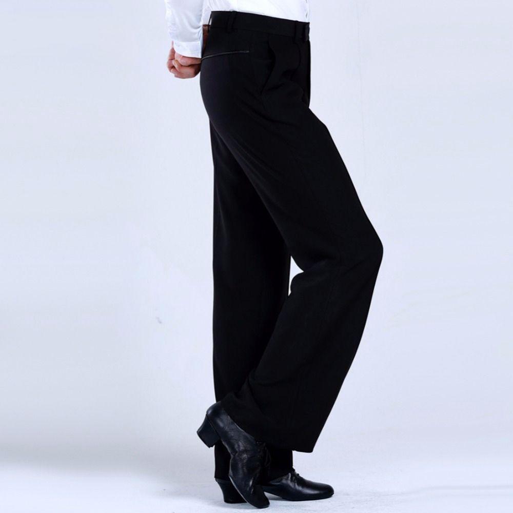 2018 pantalons de danse latine pantalons hommes/garçon pratique/Performance pantalons pour danse pantalons de danse moderne pantalons de danse de salon pour hommes DQ6051