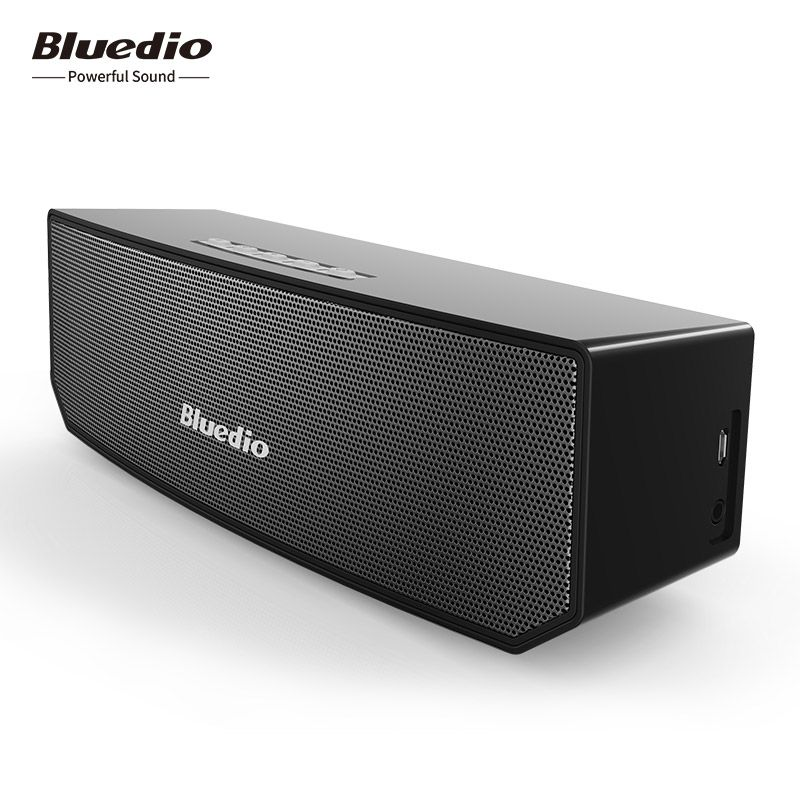 Bluedio BS-3 Mini Bluetooth Speaker portable Wireless Sound System 3D stereo Music <font><b>loudspeakers</b></font>
